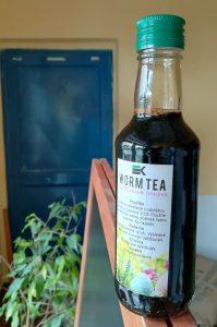 Dážďovkový čaj