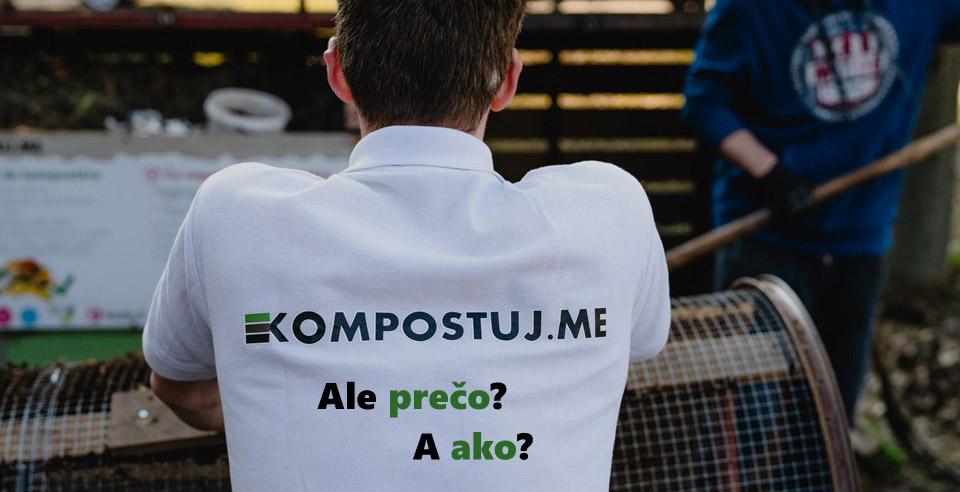 OZ Kompostujme. Ako a prečo kompostovať?
