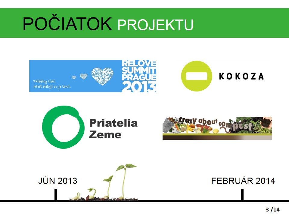 Počiatok projektu Komunitné kompostovanie v Žiline
