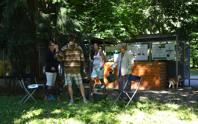 Spustenie projektu Komunitné kompostovanie v Žiline 2015