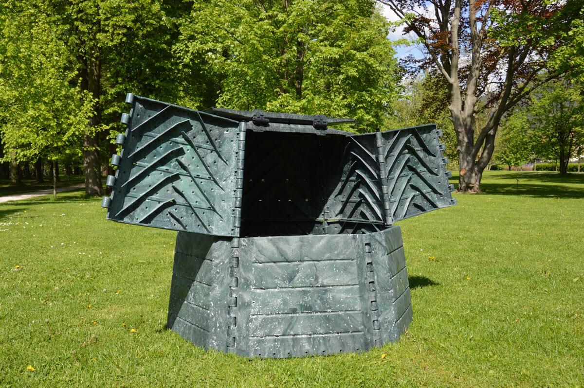 Záhradný kompostér MAXI 1050 L web