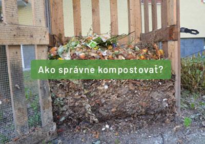 Hľadáte informácie, ako správne kompostovať? U nás ste správne, my vás nakopneme tým správnym smerom.