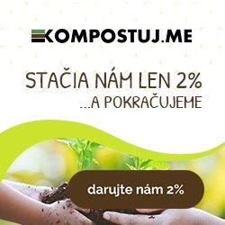 Darujte Kompostujme 2 %